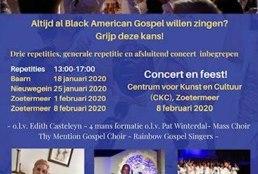 Workshop Black American Gospel